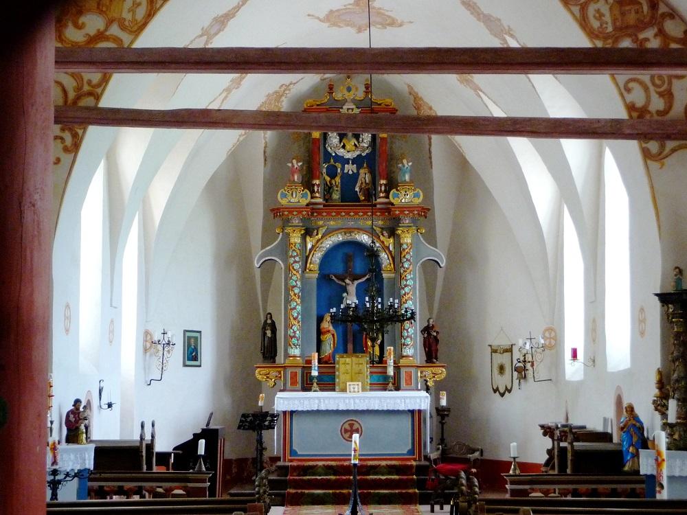 Der Innenraum der Paulskirche