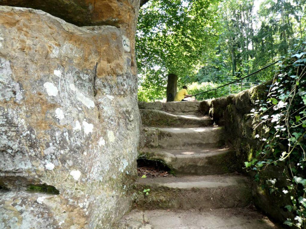 Felsenweiher, Gutenbachtal, Plattform