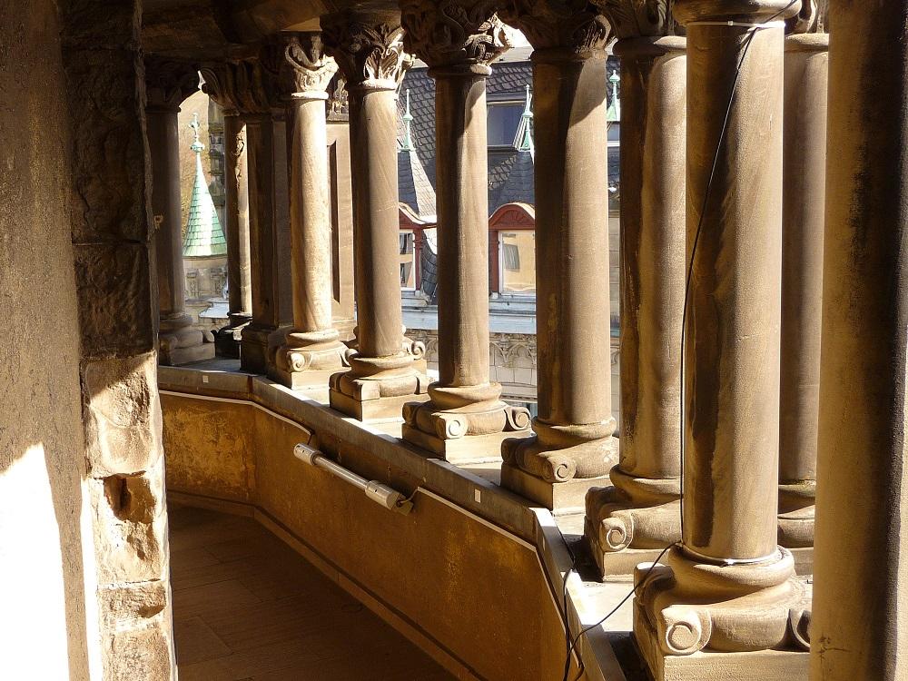 Säulen in der Porta Nigra, Trier