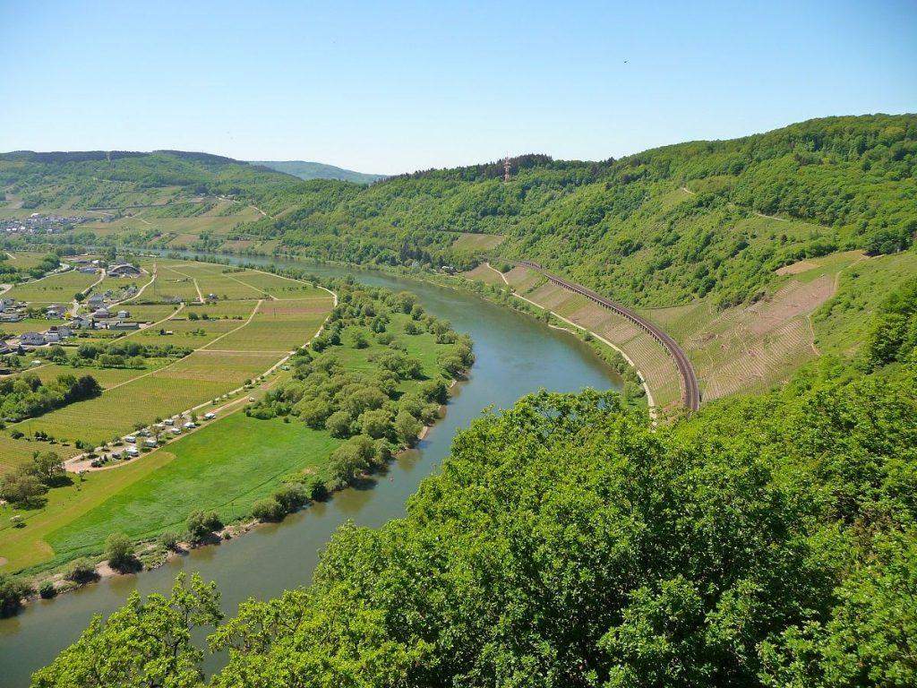 Prinzenkopfturm, Mosel, Pünderich, Kanonenbahn