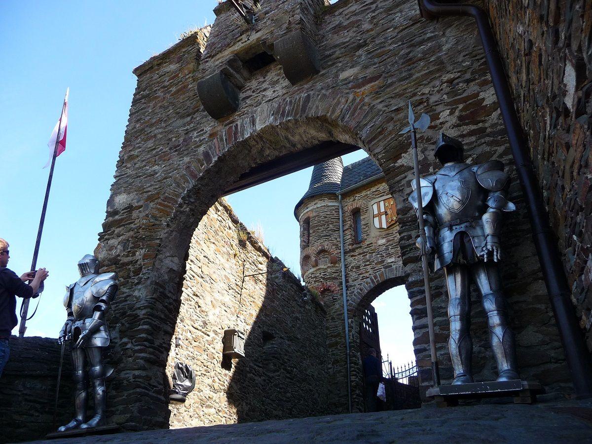 Mosel, Burgen, Reichsburg Cochem, Tor