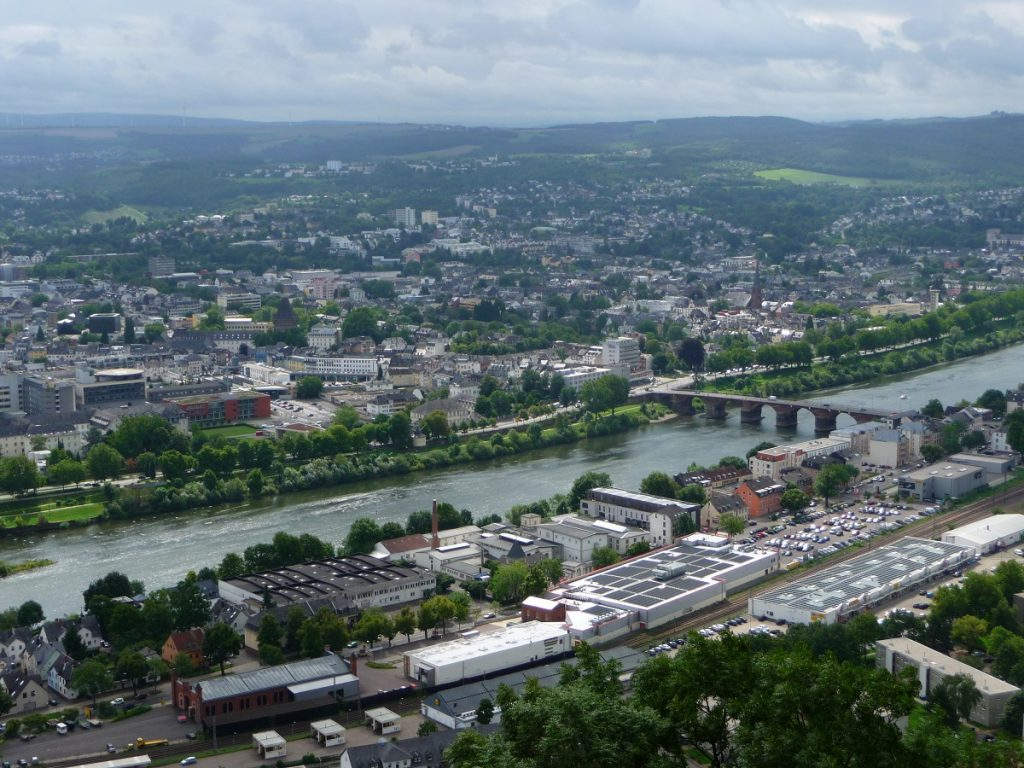 Römerbrücke, Mosel, Trier