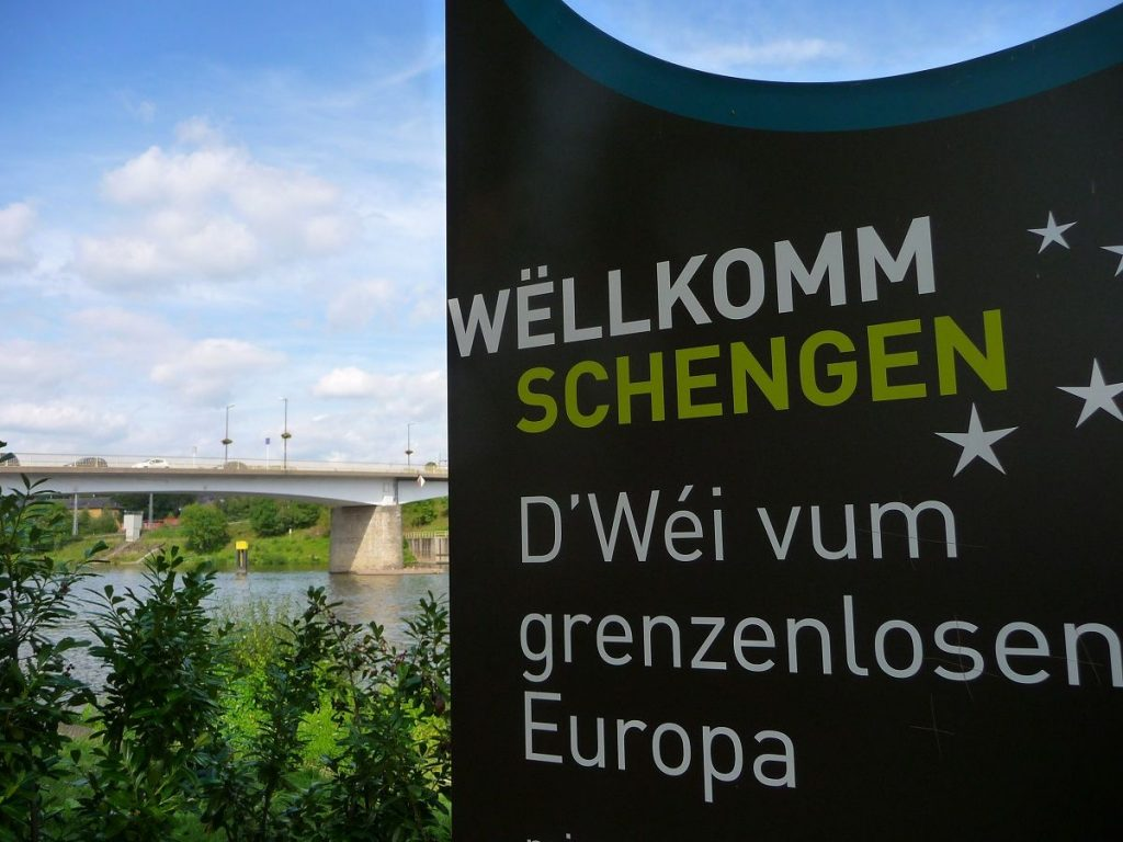 Schengen, Luxemburg, Abkommen, Brücke