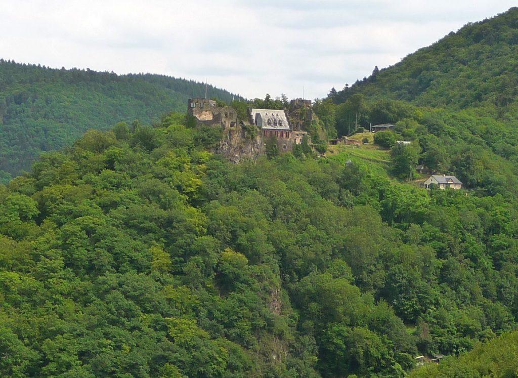 Schloss Veldenz, Rittersturz
