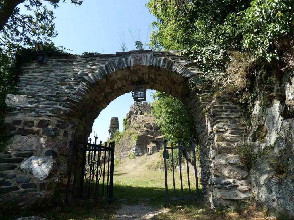 Schloss Veldenz, Mosel, Eingang