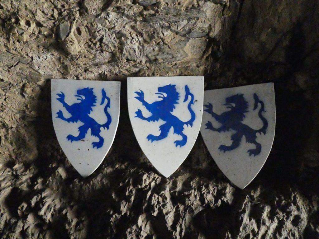 Veldenzer Wappen, Mosel, Burg
