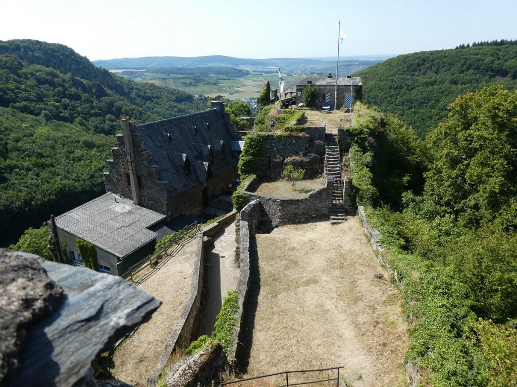 Schloss Veldenz, Ruine, Mosel