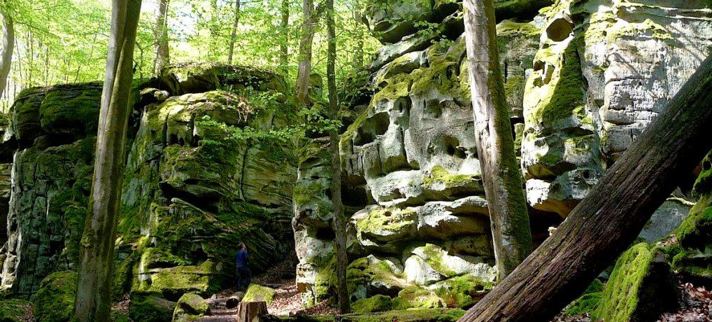 Teufelsschlucht: Wandern im Zauberwald