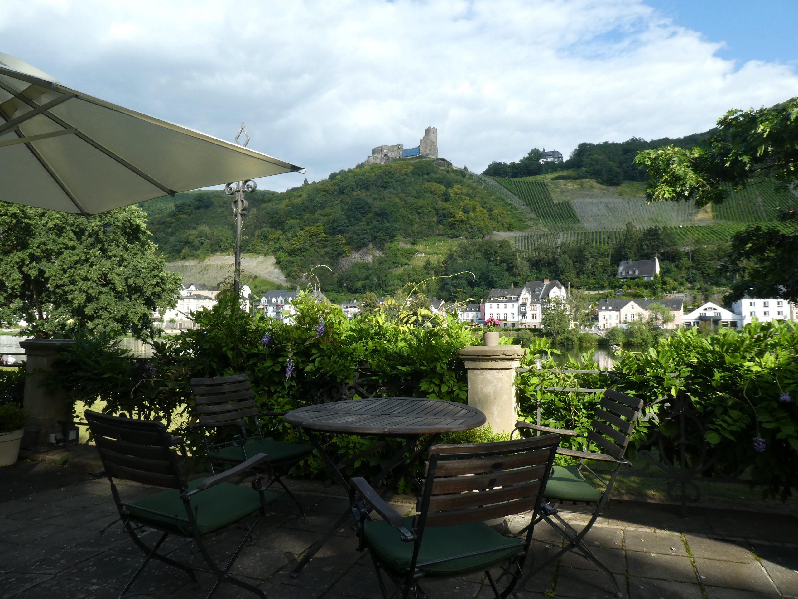 Weingut Thanisch, Kues, Garten