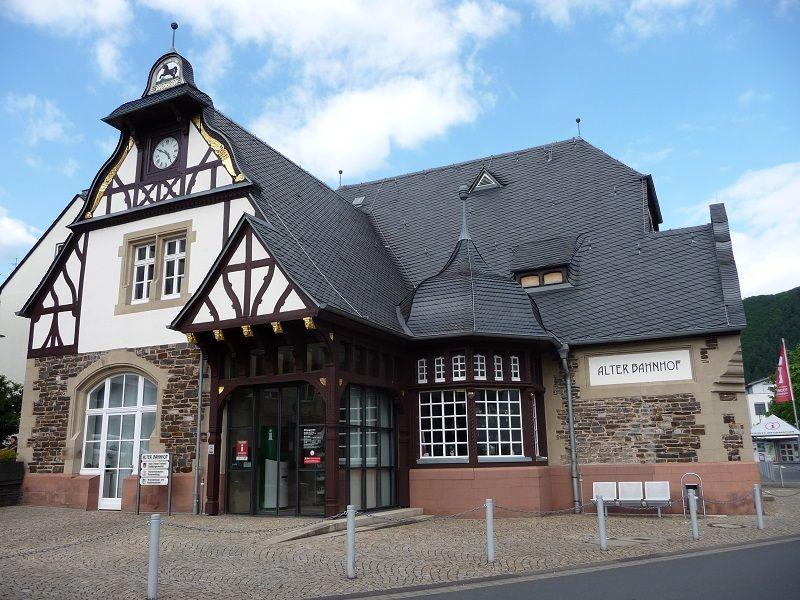Alter Bahnhof, Traben
