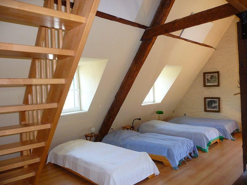 Schlafsaal in der Alten Lateinschule in Traben-Trarbach.