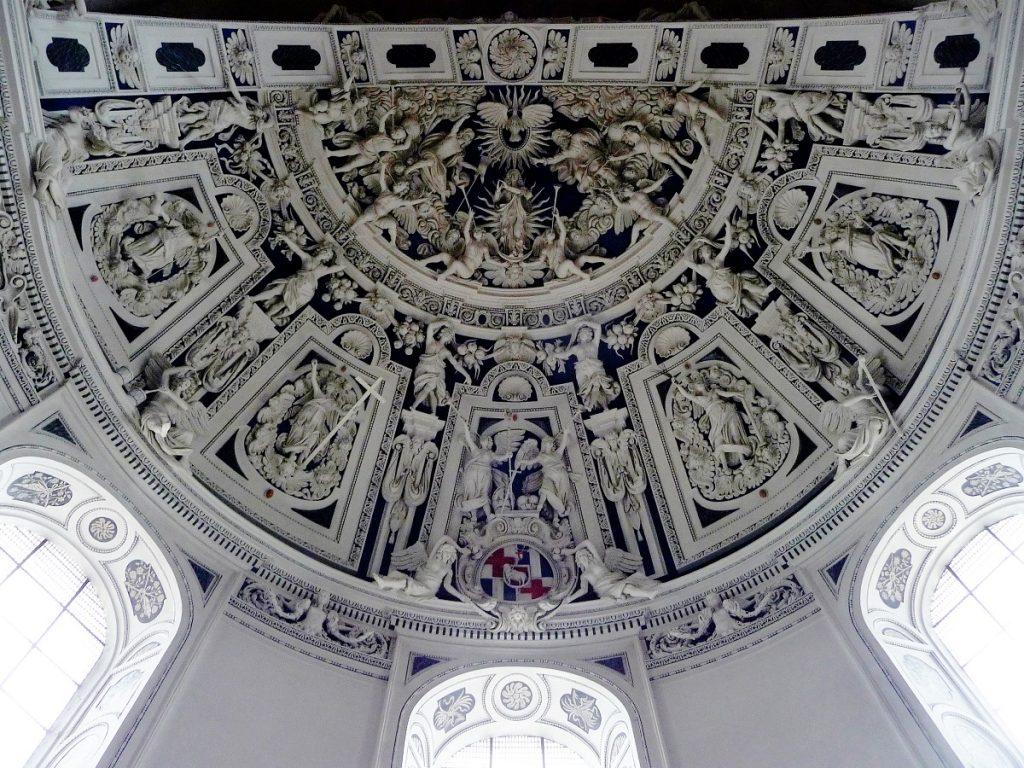 Dom, Trier, Stuckdecke