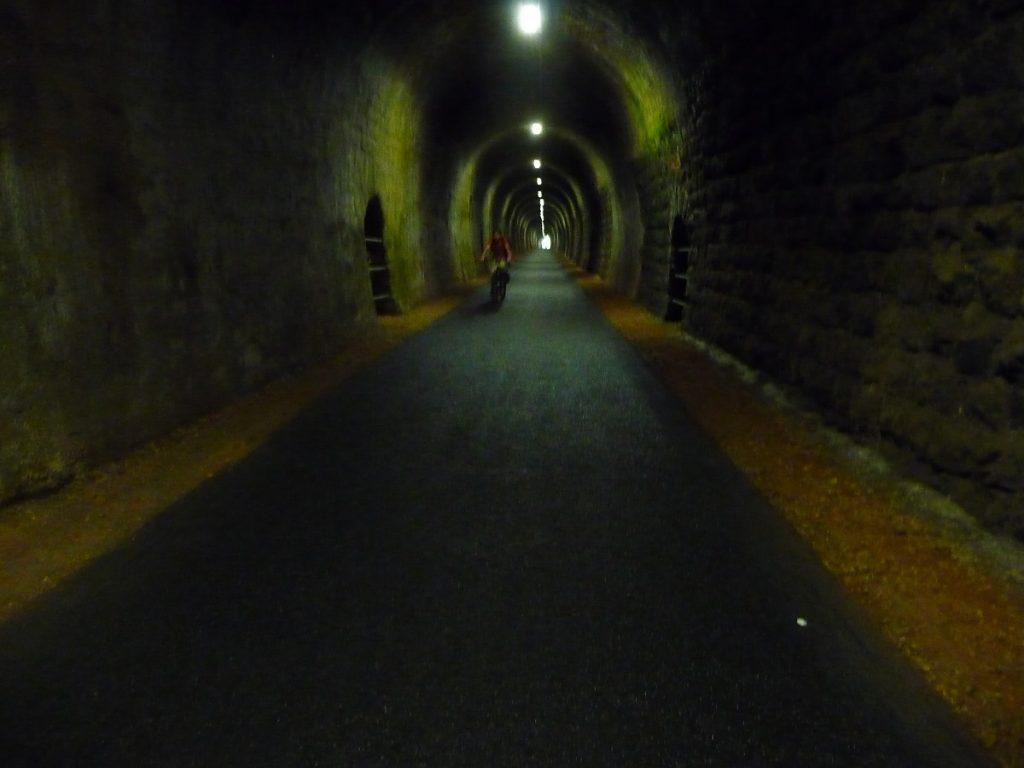 Maare-Mosel-Radweg, Eifel, Pleiner Tunnel