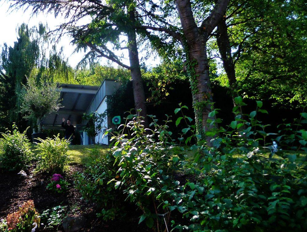 Cochem, Bundesbank Bunker, Garten