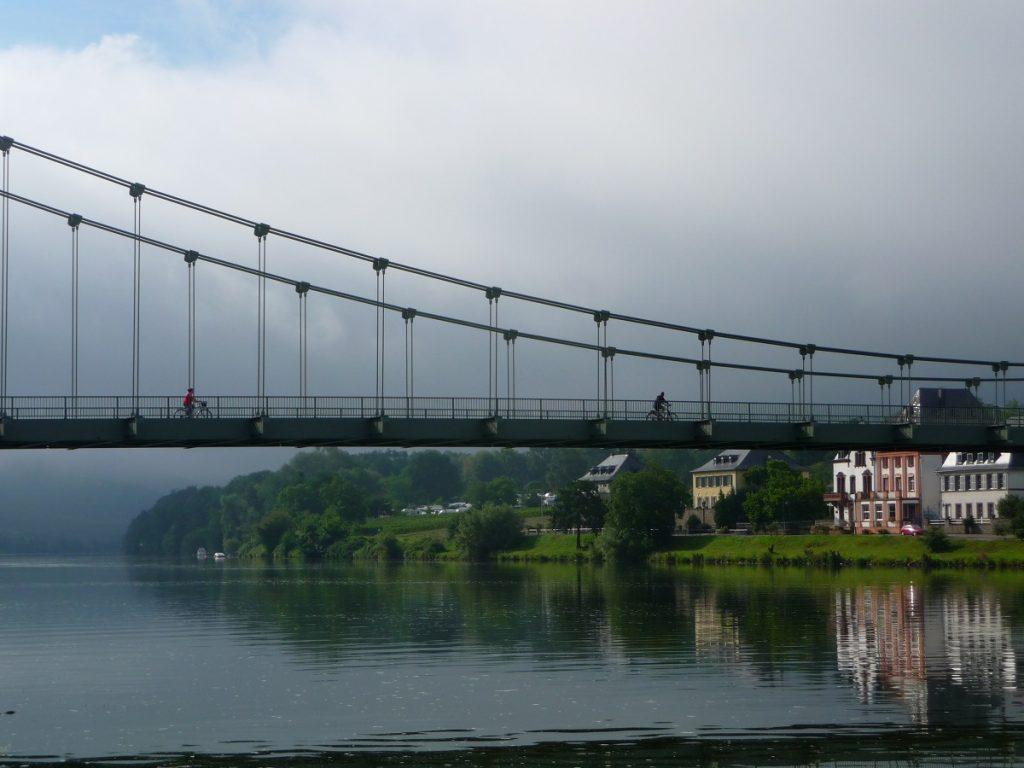 Mosel, Wehlen, Hängebrücke