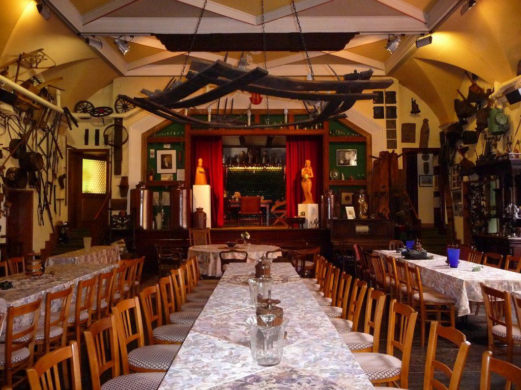 Mosel, Weinmuseeum, Schlagkamp-Destoye, Festsaal